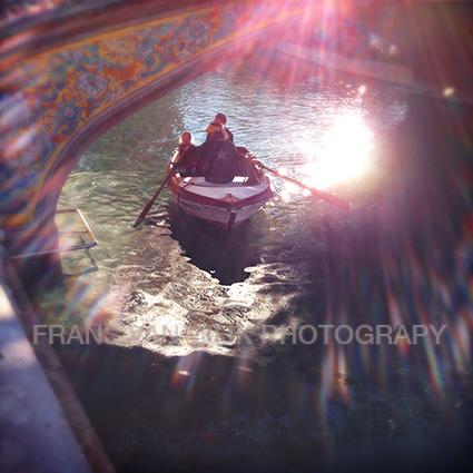 Sevilla boot gracht brug